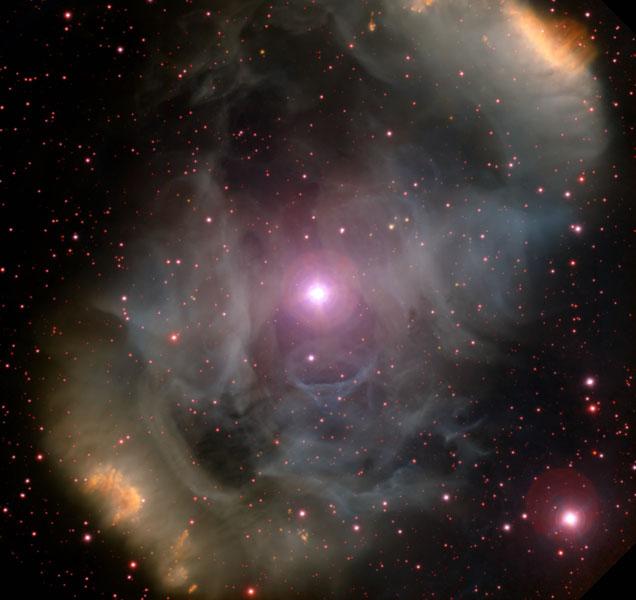 NGC 6164 nébuleuse par émission bipolaire