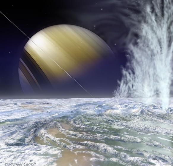 Les volcans de glace d\'Encelade