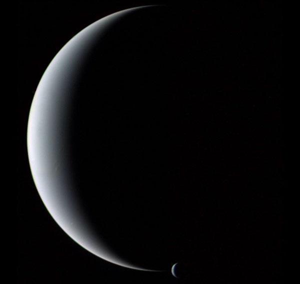 Croissant de Neptune et Triton