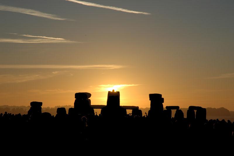 Lever de Soleil de Solstice à Stonehenge