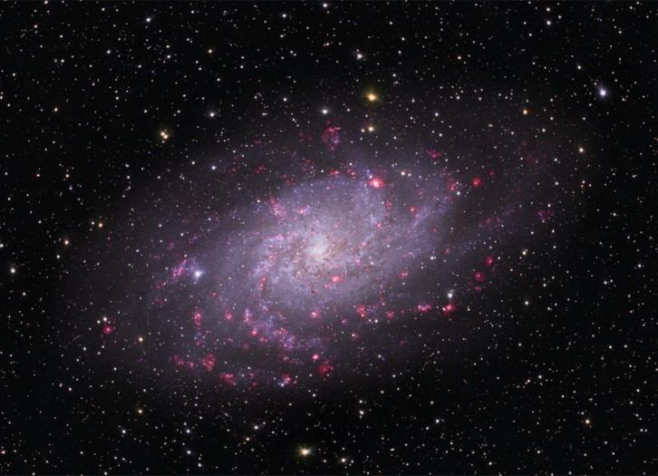 M33, une spirale dans le Triangle