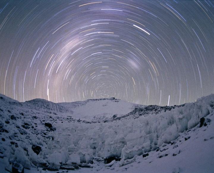 Filé d\'étoiles à 6000 mètres