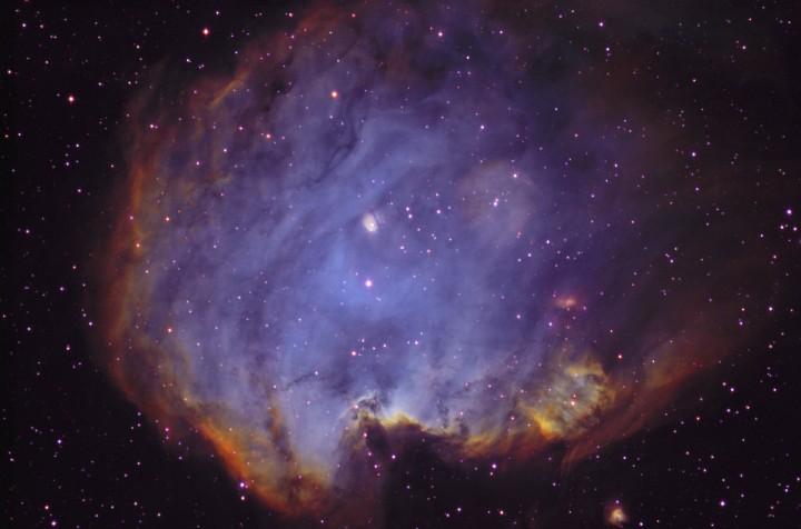 NGC 2174, nébuleuse par émission dans Orion