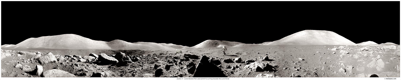 Un panorama d\'Apollo 17