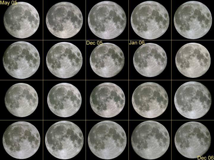 Vingt pleines lunes