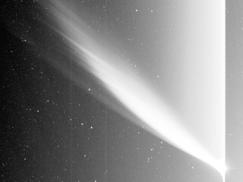 La comète MacNaught vue par le satellite STEREO