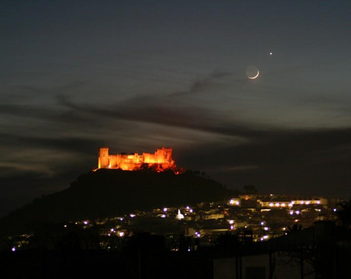 Un château dans le ciel d'Espagne