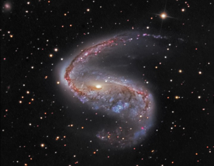 NGC 2442, galaxie du poisson volant