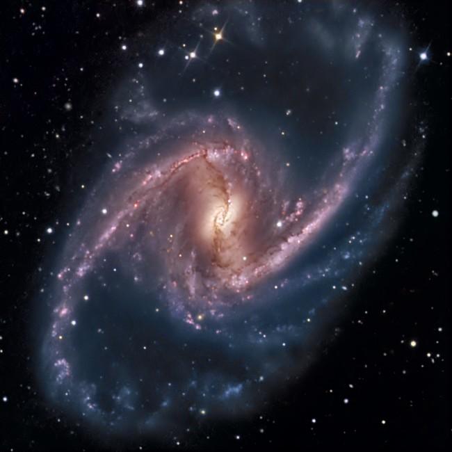 NGC 1365, majestueux Univers-île