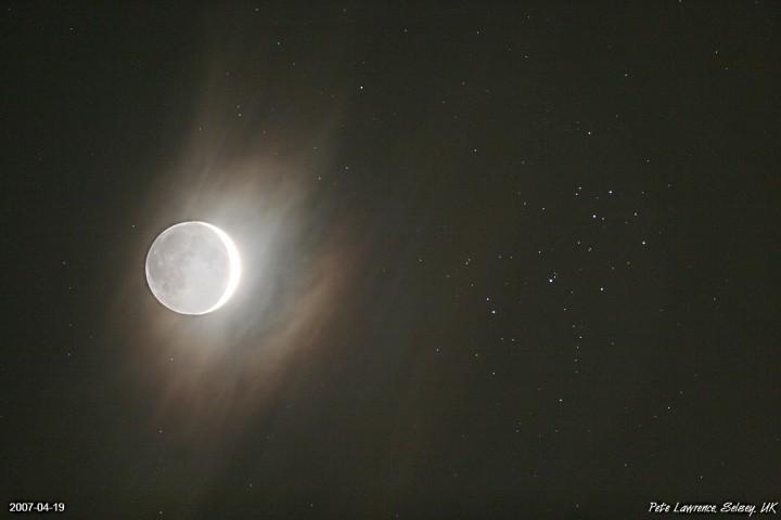 La Jeune Lune et les Etoiles Soeurs