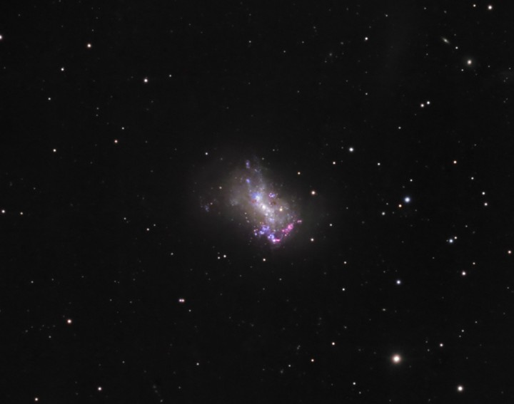 La Petite Galaxie NGC 4449