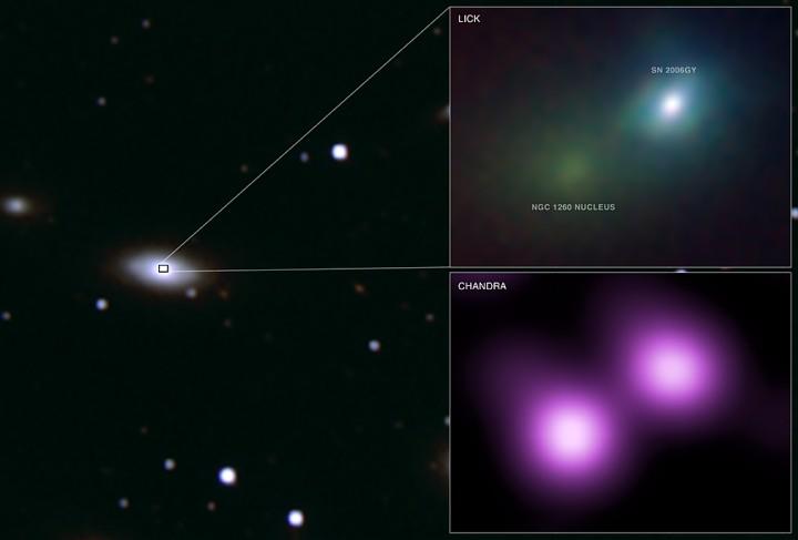 SN 2006gy, la plus brillante des supernovae