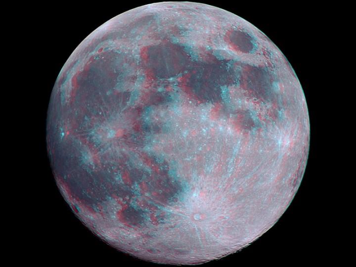 La Pleine Lune en 3 dimensions