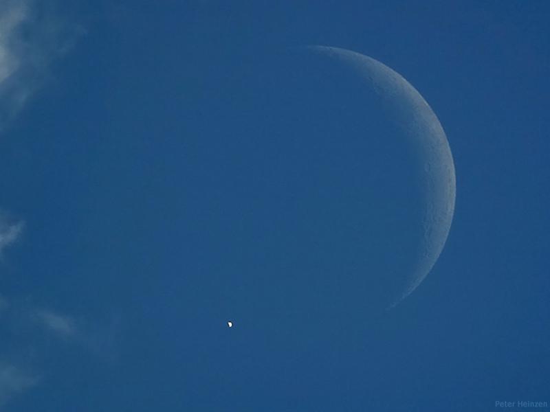 Vénus éclipsée en plein jour