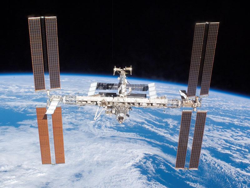 La station Spatiale Internationale s'étend encore