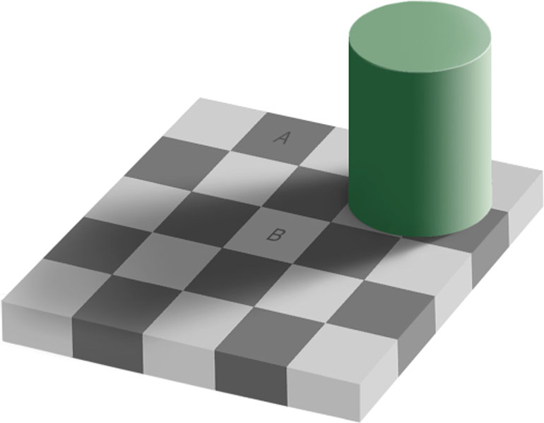 L'illusion de la même couleur
