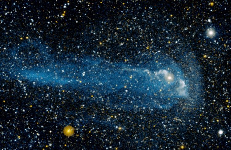 La queue d\'une merveilleuse étoile