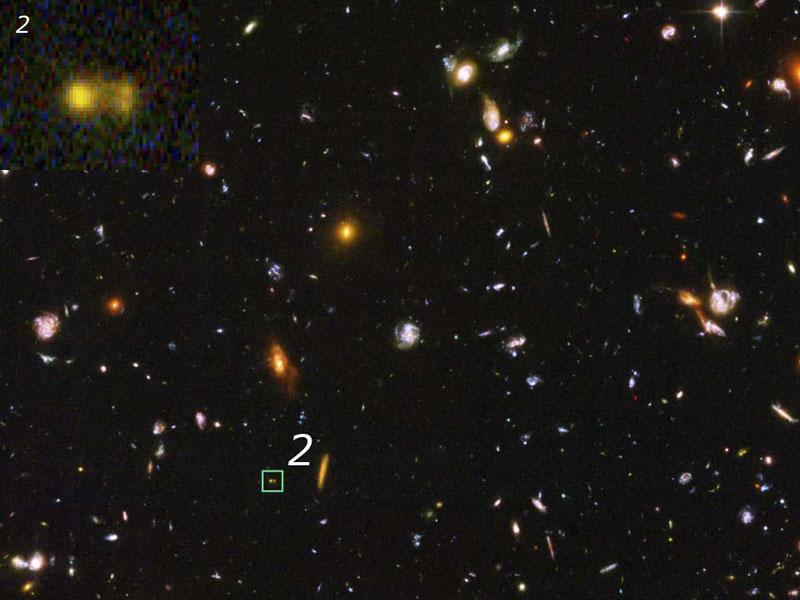 Les galaxies-briques de l\'Univers primitif