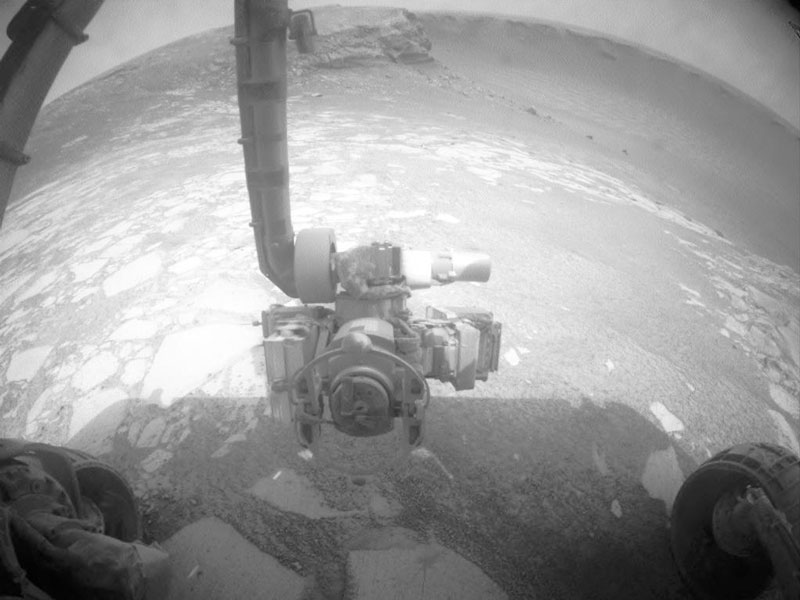 À l\'intérieur du cratère Victoria sur Mars