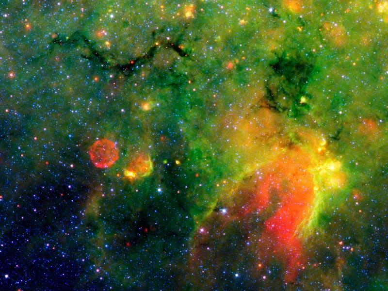 Une région de formation d\'étoiles dans notre galaxie