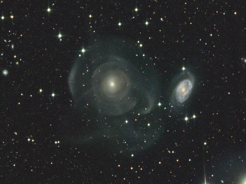 La galaxie NGC 474, mixeur cosmique