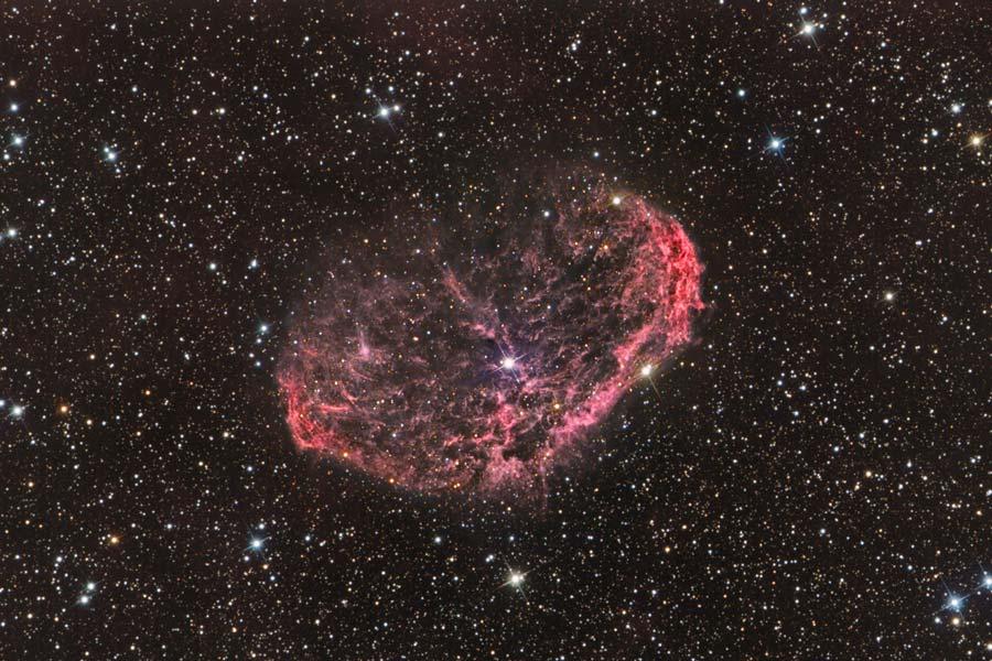 NGC 6888, la nébuleuse du Croissant