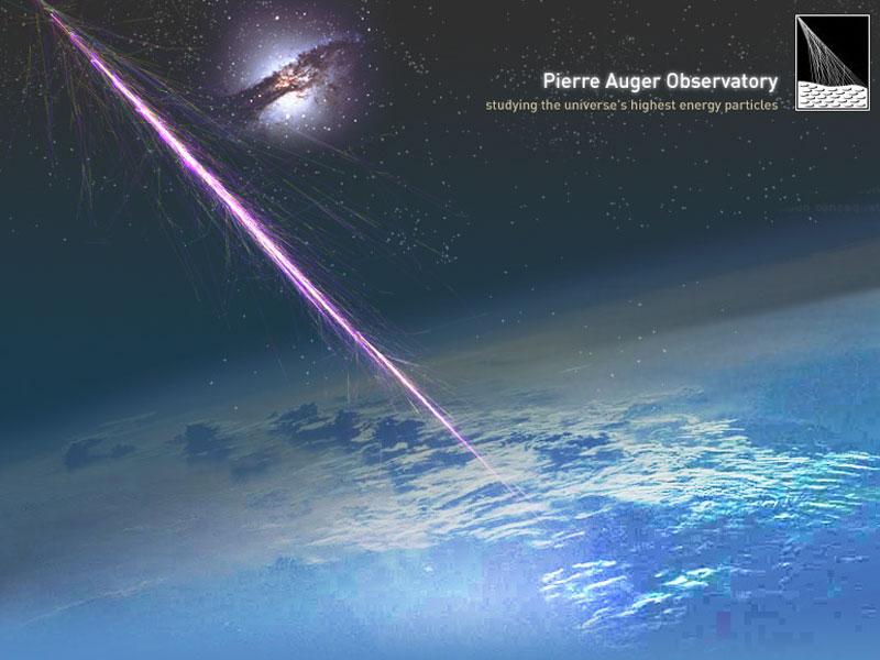 Rayons cosmiques en provenance de centres galactiques