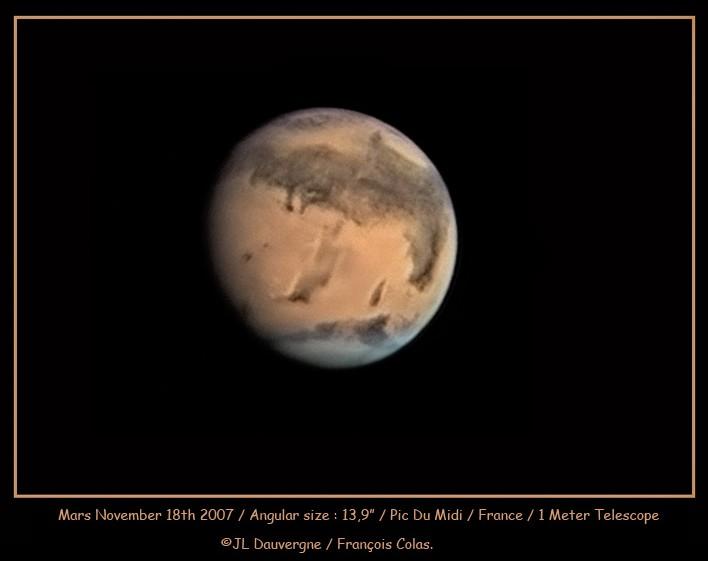 Mars en vue