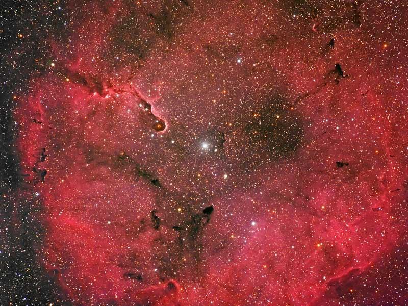 La nébuleuse par émission IC 1396