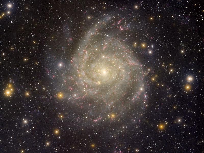 La galaxie cachée IC 342 vue de l\'observatoire de Kitt Peak