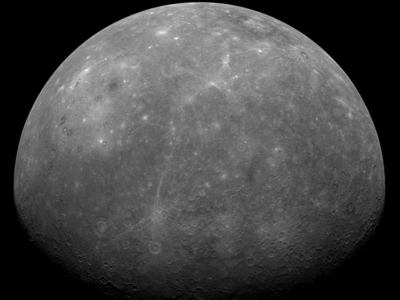 MESSENGER survole Mercure