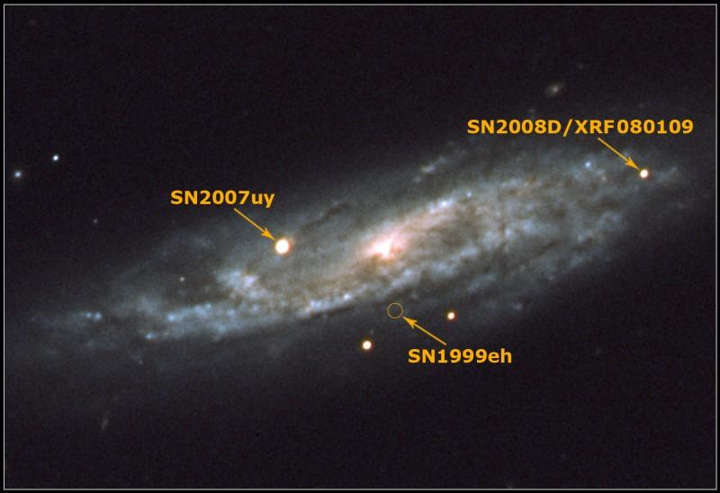 L'usine à supernovae NGC 2770