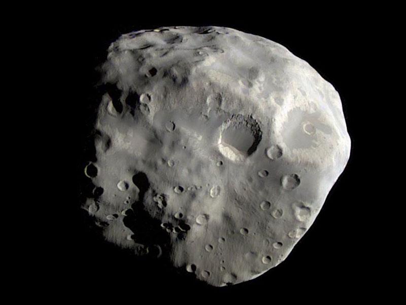 Epiméthée vue par la sonde spatiale Cassini