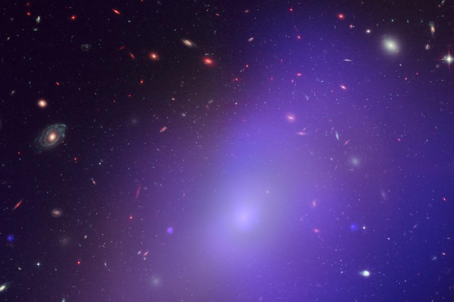 La galaxie elliptique NGC 1132