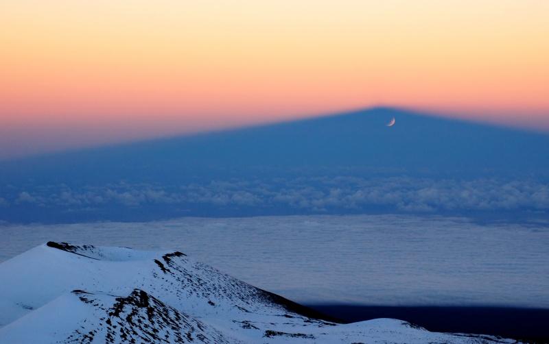 Théâtre d\'ombres sur le Mauna Kea