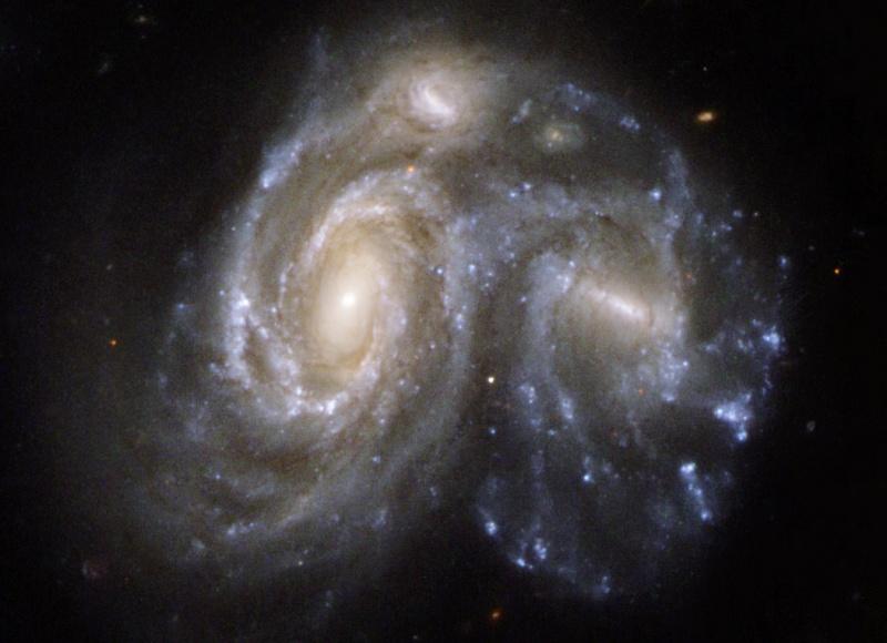 Arp 272, instantané du futur de notre galaxie