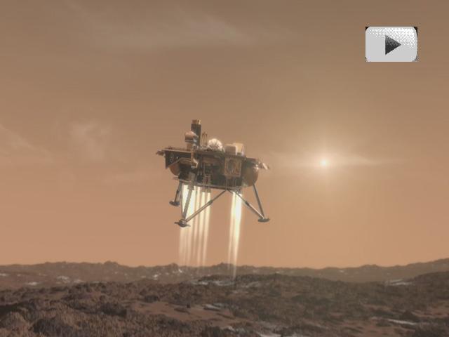 Atterrissage de Phoenix sur Mars