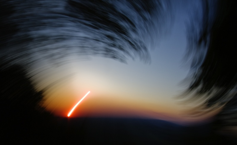 Un certain regard sur le coucher du Soleil