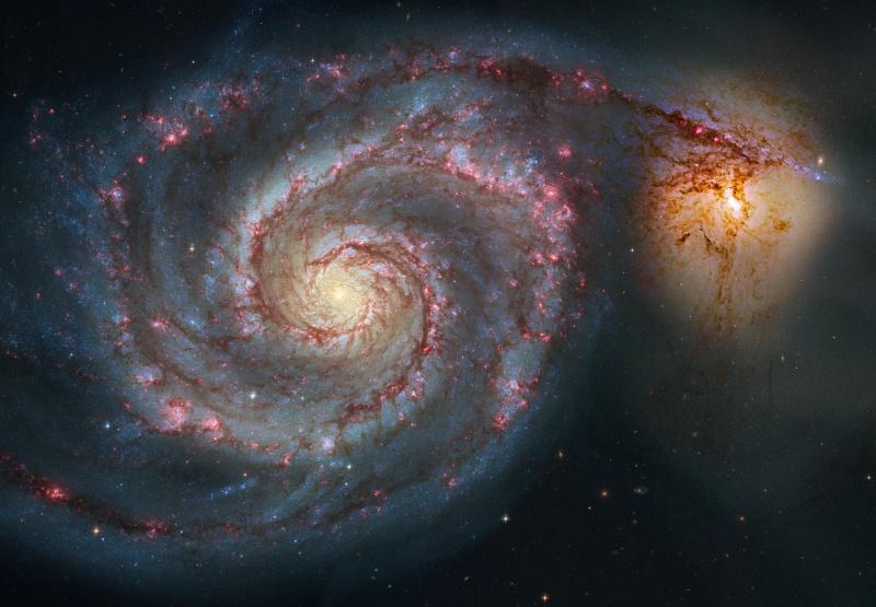 Un nouveau regard sur M51