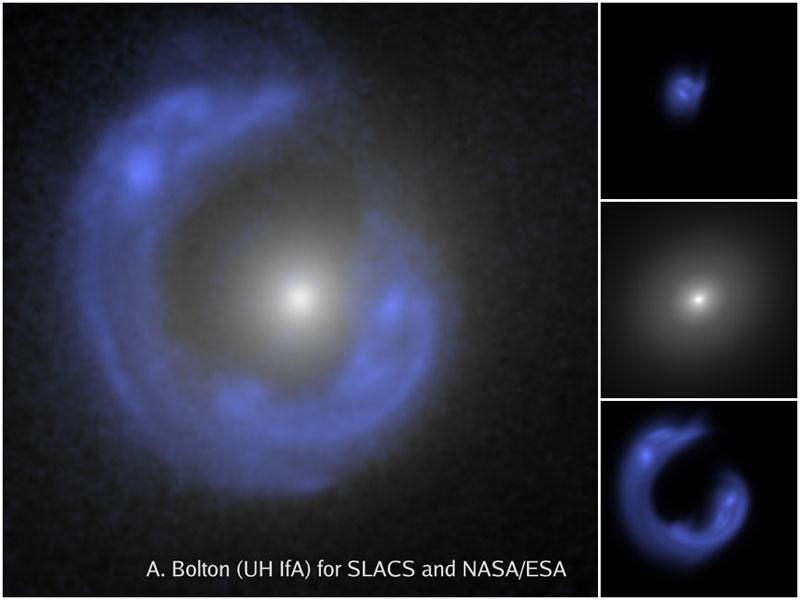 SDSSJ1430, une galaxie dans un anneau d\'Einstein