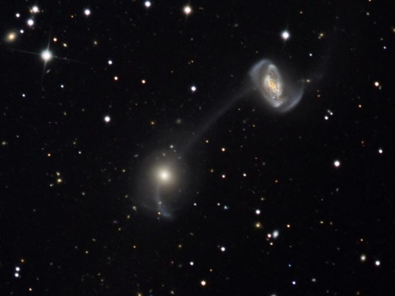 Galaxies sur la corde raide