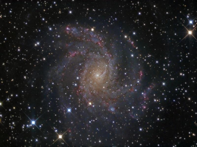 NGC 6946 de face