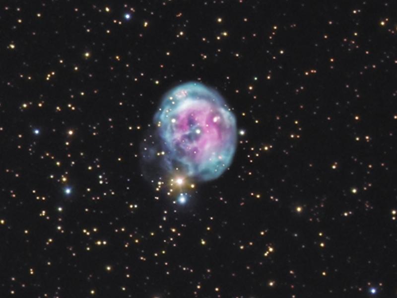 NGC 7008, la nébuleuse du foetus