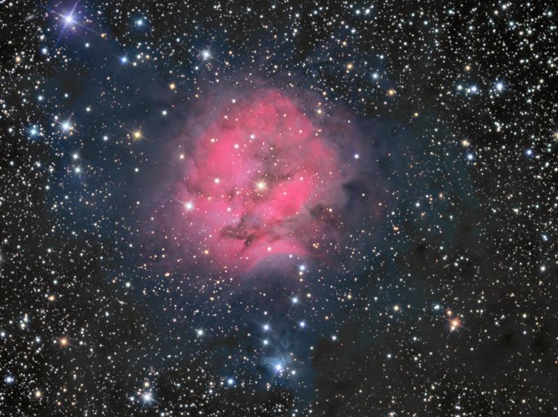 IC 5146, la nébuleuse du Cocon