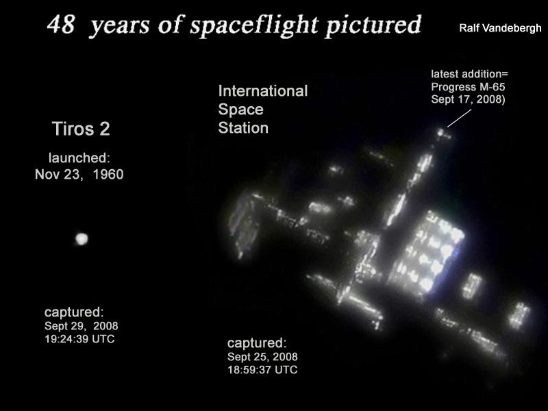 48 ans de vol spatial