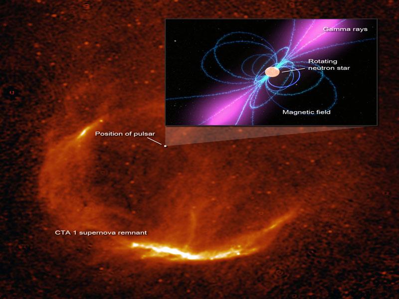 Pulsar noir dans CTA 1