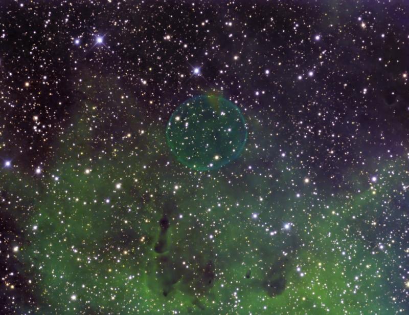 Une bulle dans le Cygne