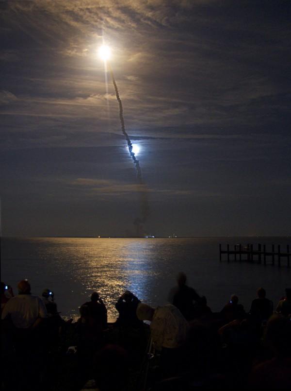 Endeavour dans la Lune