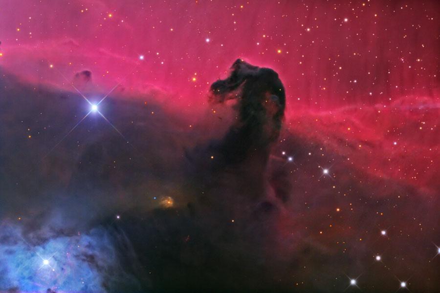 La nébuleuse de la Tête de Cheval dans Orion