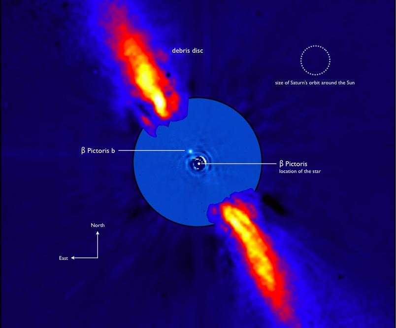 Probable planète autour de Beta Pictoris